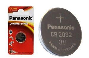 panasonic cr2032 2032 battery coin cell lithium batteries 3v pack of 1 2 4 6 24 ebay. Black Bedroom Furniture Sets. Home Design Ideas
