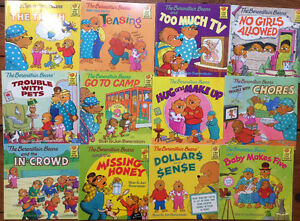 BERENSTAIN BEARS picture books $3 each or all 12 for $30
