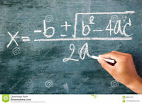 Tutor Available For Math and Science