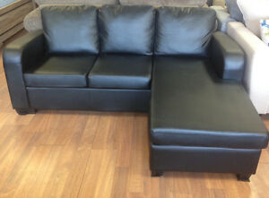 Brand new 2 pc sectional $698 + FREE side table + FREE DELIVERY!
