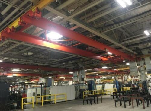 5-Ton, CED / Weco Double Girder Bridge Crane , 58