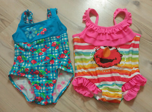 18m baby girl swim suits