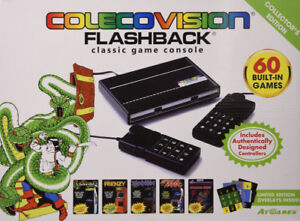 COLECOVISION FLASHBACK CLASSIC GAME CONSOLE RETRO SYSTEM