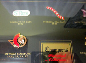 1997 NHL STANLEY CUP CHAMPIONS FRAMED PIN COLLECTION! LEAFS.... Gatineau Ottawa / Gatineau Area image 5