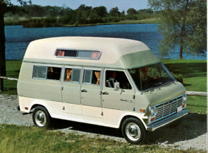 WANTED: Mid 60's to early 70's Ford Econoline camper van