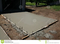 Need to Make Cement Floor