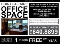 Pointe-Claire Office Space