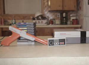 NES Console + Games