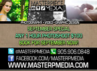 SPECIAL SEPTEMBER PHOTOGRAPHY DEAL! SAVE $$$!!!!