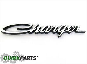 1971 1974 Dodge Charger Emblem Decal Nameplate Mopar