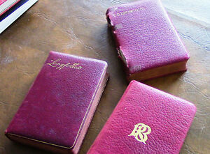 3 Books: Longfellow, Robert Browning, Elizabeth Barrett Browning