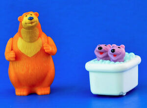 BEAR IN THE BIG BLUE HOUSE Otters Figures Toys