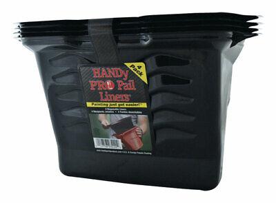 HANDy  Pro Pail Liners  Black  1/2 gal. Plastic  Paint Pail Liner