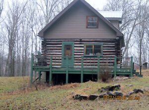 LIVE THE DREAM LOG CABIN ON 40 ACRES