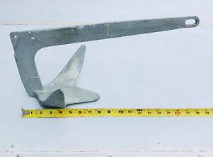 Boat Anchor, Bruce or Claw Type, 11 lbs.