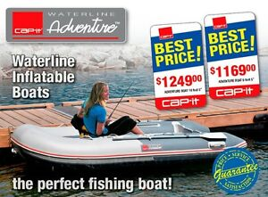 Cap-it Waterline Inflatable Boats 9.5 & 10.5