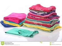 Washing and ironing services