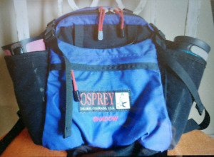 "OSPREY ""SHADOW"" Lumbar Travel Hiking Backpack Waist Pack"