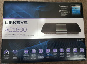 Linksys AC1600 Dual Band Smart Wireless Router Gigabit port