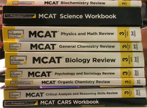 Princeton Review MCAT Review Books 3rd Edition
