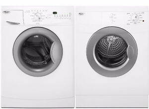 Combo Laveuse/Sécheuse blanches 24'' , front load [Whirlpool]