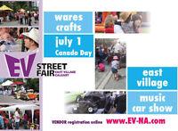 VENDORS WANTED   JULY 1  East Village Street Fair