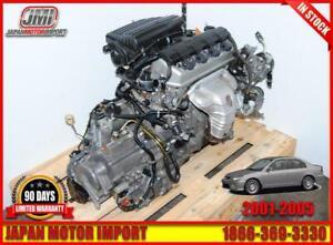 D17A2 01 02 03 04 05 ACURA EL 1.7 ENGINE, D17A MOTOR AUTO TRANS