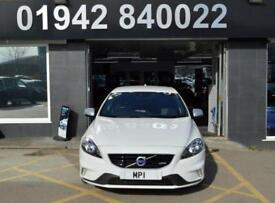 2015 15 VOLVO V40 1.6 T3 R-DESIGN 148 BHP 5DR 6SP HATCH, 49,000M, FVSH, 1 OWNER,