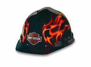 Harley-Davidson RHDHHAT10K Flames Hard Hat