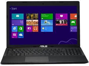 """ASUS X55U 15.6"""" INTEL  C2D  2.16 GHz, 4 GB ,320GB WIN 8.1 McOffice PRO 2013"""