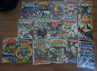 17 Vintage 70's & 80's DC & Marvel Comics! Great Selection!