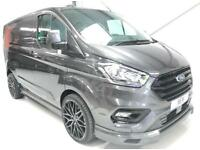 2018 NEW FORD TRANSIT CUSTOM 170PS AUTOMATIC LIMITED AUTO SPORT KIT LIKE MS-RT