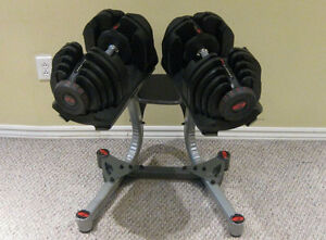 Bowflex Selecttech 1090 Adjustable Dumbell 10-90lbs with Stand