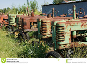 Looking for old John Deere tractor