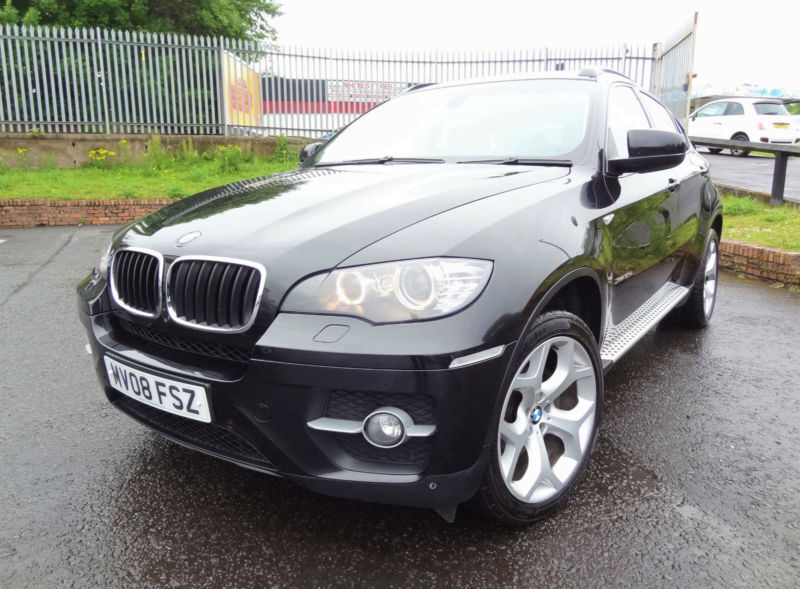 2008 bmw x6 3 0td auto xdrive30d cheaper 4x4 tax kmt cars in bellshill north lanarkshire. Black Bedroom Furniture Sets. Home Design Ideas