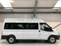 FORD TRANSIT MINIBUS 14 SEATER LOW MILEAGE 18,000 135BHP T350 3500KG 3.5T