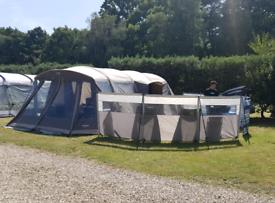 Vango polycotton airbeam 6 berth tent - Homestead 600xl TC