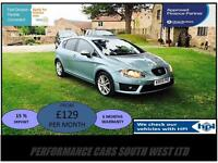 2009 (09) Seat Leon 2.0 TD FR 5dr £6795 FSSH,2 KEYS,6 MONTH WARRANTY!!