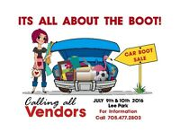Looking for vendors and volunteers for huge event
