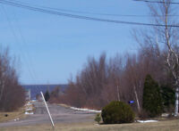 Beautiful  sloping lot in Bouctouche, NB