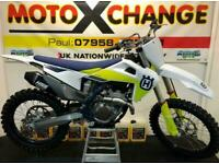 2021 HUSQVARNA FC 250 HGS PIPE....UNUSED....0 HOURS....£8595....MOTO X CHANGE