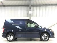 VW VOLKSWAGEN CADDY HIGHLINE LOW MILEAGE 1.6TDI 102PS METALLIC BLUE