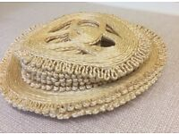 NEW Natural Corded Table Mats Set