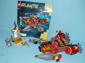 LEGO ATLANTIS no 7984, LE DEEP SEA RAIDER