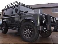 Land Rover 90 Defender 2.5 Td5 Galvanised Chassis 6 Seater Rebuild Rare One Off