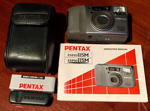 PENTAX ESPIO/IQZOOM 115M (QUARTZ DATE) WITH REMOTE CONTROL C SET
