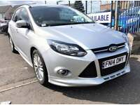 FORD FOCUS ZETEC S S-S 2014 Petrol Manual in Silver