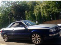 Audi 80 Cabriolet 1 Year MOT