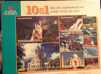10 in 1 Deluxe Jigsaw Puzzles