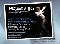 APPEL DE PROJET/CALL OUT FOR SUBMISSIONS FESTIVAL BOUGE D'ICI